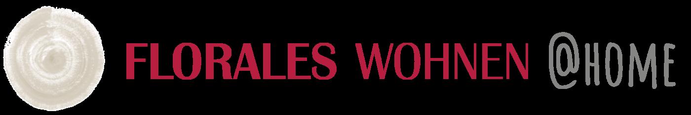 Logo - florales wohnen @home