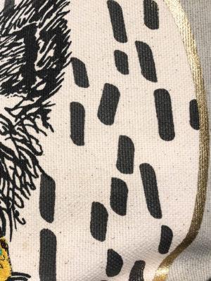 Kissen mit Federfüllung 50x50 Henry Detail Kokon