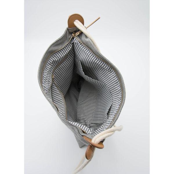 LIEBLINGE Handtasche OH LA LA Rucksack Räder 13361 - Detail Innenaufteilung
