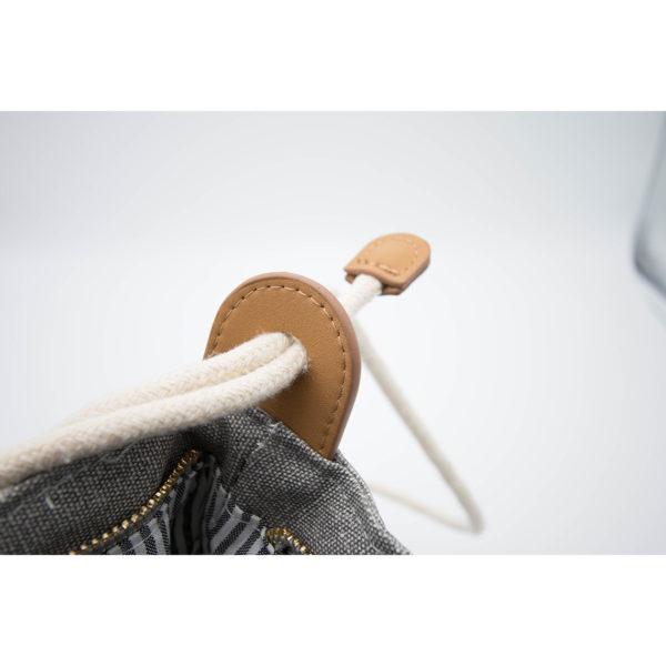 LIEBLINGE Handtasche OH LA LA Rucksack Räder 13361 - Detail Lederhalterung