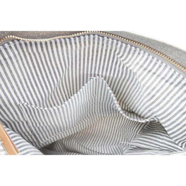 LIEBLINGE Handtasche OH LA LA Rucksack Räder 13361 - Detail kleine Taschen innen