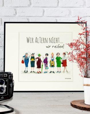 Passepartout Barbara Freundlieb Kunstdruck 2