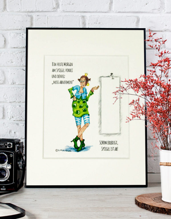 Passepartout Barbara Freundlieb Kunstdruck 3