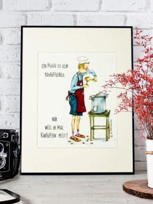 Passepartout Barbara Freundlieb Kunstdruck 13