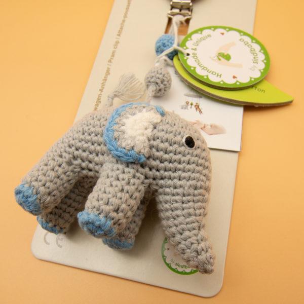 Sindibaba Kinderwagen Clip Elefant -2