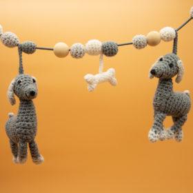 Sindibaba Kinderwagenkette Hunde -1